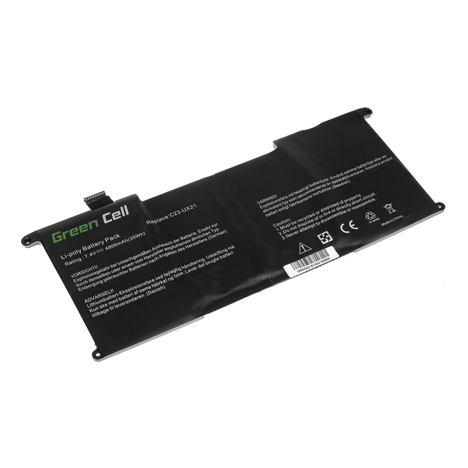 Asus UX21 Ultrabook UX21 UX21A UX21E UX21E-DH52 C23U съвместима батерия