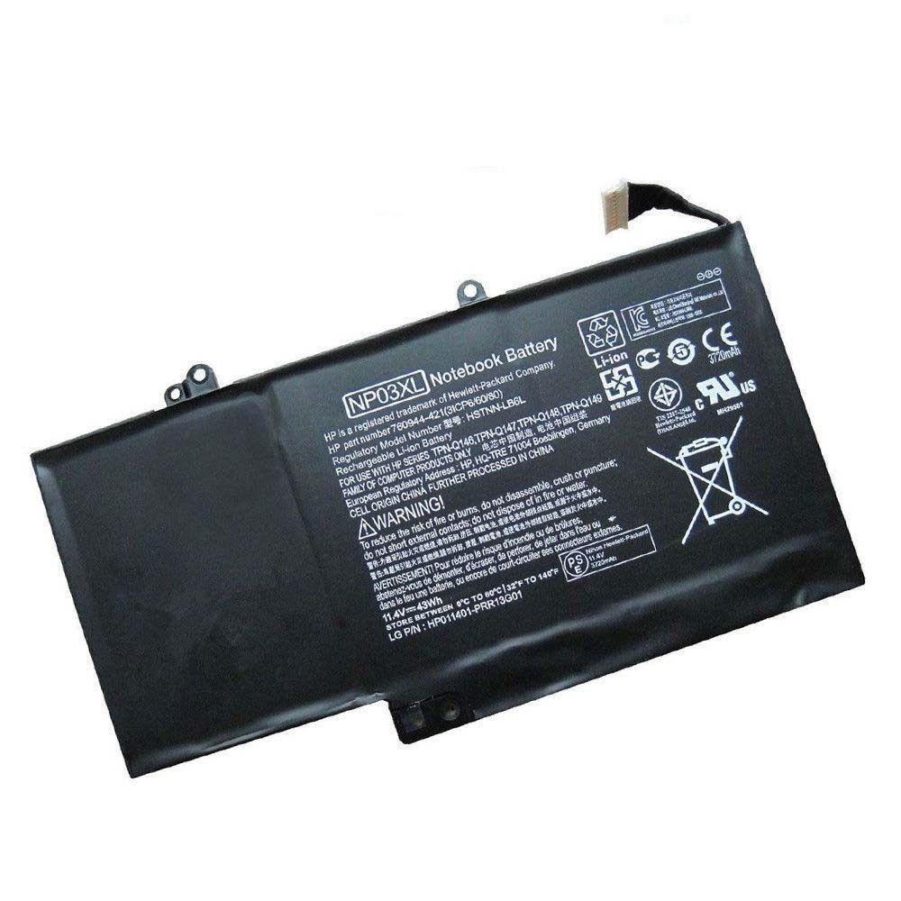 NP03XL HP Pavilion X360 13-A010DX 13-b116tu(J8C75PA) съвместима батерия